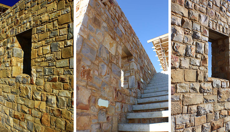 Brenton on Sea – Stone Cladding