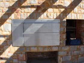 Brenton on Sea – Stonework Fireplace