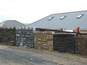 Ireland House – Feature Wall