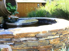 The Garden Route Botanical Gardens Stone Fountain