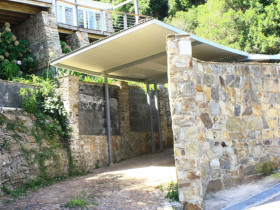 Wilderness House – Stone Parking Area