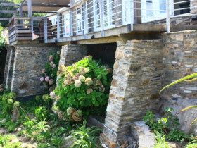 Wilderness House – Stone Foundation