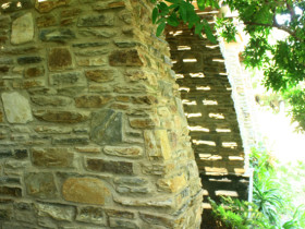 Wilderness House – Stone Foundation Walls